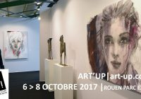 Seconde édition d'Art Up! à Rouen du 6 au 8 octobre 2017
