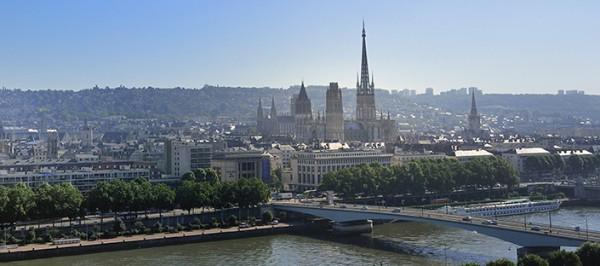 Panorama de Rouen