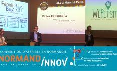 startups rouennaises à la convention normandinnov
