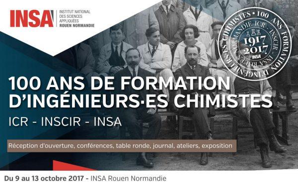 100 ans de l'Institut de Chimie à Rouen