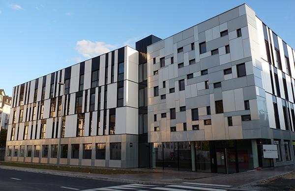 Immeuble de bureaux Le Polaris à Rouen ©Adear