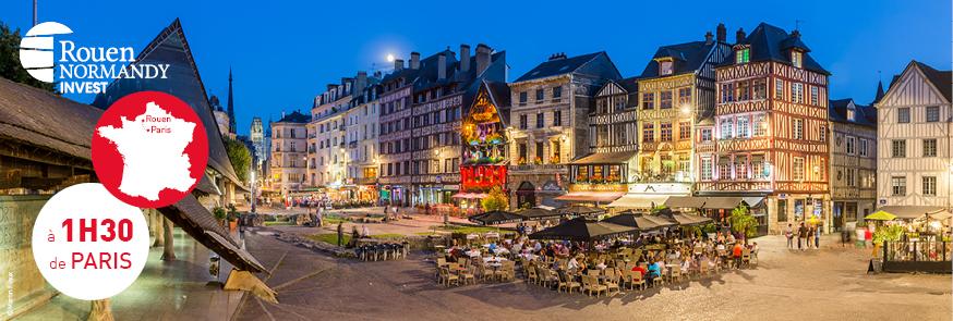 Découvrez Rouen, à 1h30 de Paris !