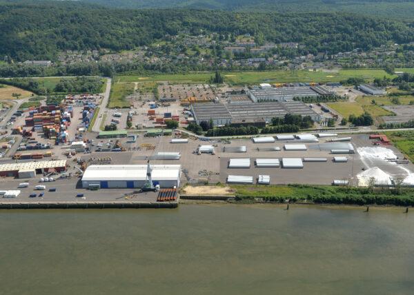 50 hectares clés en main disponibles sur le Port de Rouen