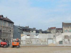 Ancienne friche à reconvertirà Elbeuf : le site industriel Cousin-Corblin