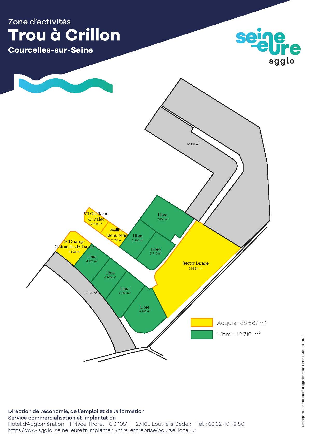 Zone d'Activités Trou à Crillon