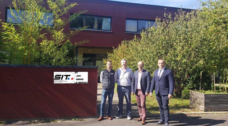 ASPI s'installe à Rouen Madrillet Innovation