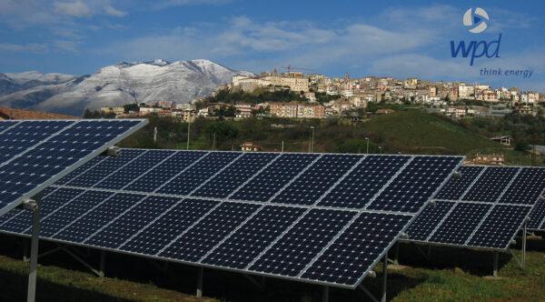 Centrale wpd Solar de Minturno (Italie)