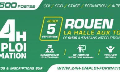 24 Heures pour l'Emploi et la Formation à Rouen