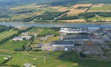 50 hectares of port lands immediately available on the Port of Rouen