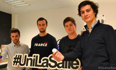 Une balle de golf écologique créée des élèves-ingénieurs d'UniLaSalle Rouen