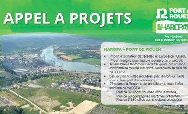 HAROPA – Port de Rouen lance un appel à projets sur la zone logistique de RVSL