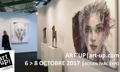 Seconde édition d'Art Up! à Rouen du 6 au 8 octobre 2017