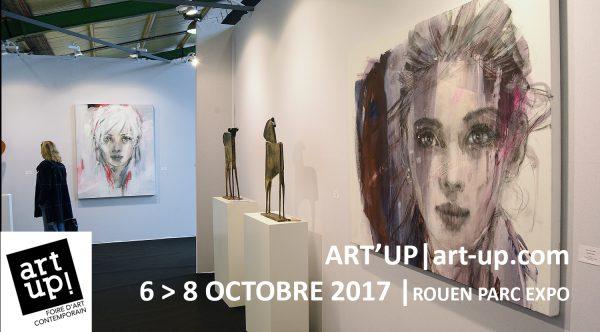 Seconde édition d'Art Up! à Rouen du 6 au 8 octobre 2017 : la foire d'art contemporain à ne pas manquer !