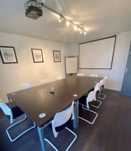 Salle de réunion : centre d'affaires Alfa à Rouen