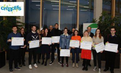 Concours Créactifs : 10 projets sélectionnés