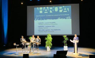 Conférence HAROPA : «Rouen, au cœur de la supply chain conteneurs»