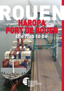 Téléchargez ici la plaquette Rouen Haropa Port de Rouen