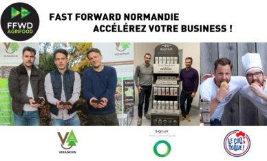 Fast Forward Agrifood : trois entreprises rouennaises sélectionnées