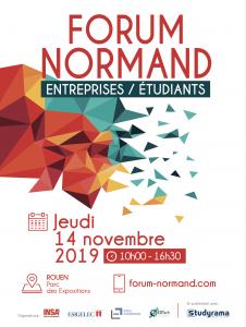 Forum Normand Entreprises-Etudiants Rouen