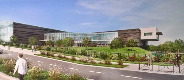 Futur bâtiment du CESI au Madrillet