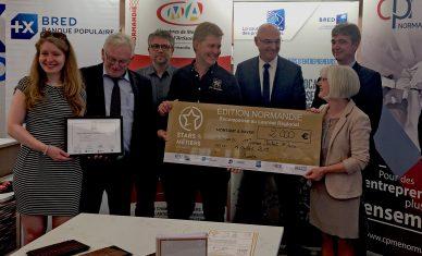 Prix Stars & Métiers pour l'artisan-chocolatier Hubert Masse