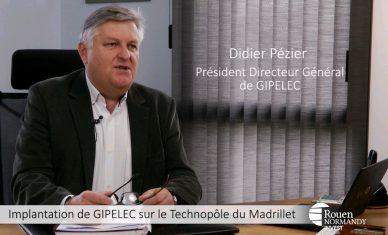 Installation de GIPELEC sur le Technopôle du Madrillet