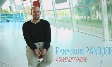 Interview M. Panousis accompagné par Rouen Normandy Invest