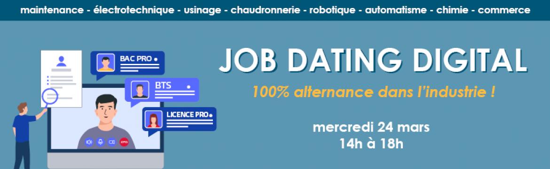 Job Dating UIMM Rouen-Dieppe
