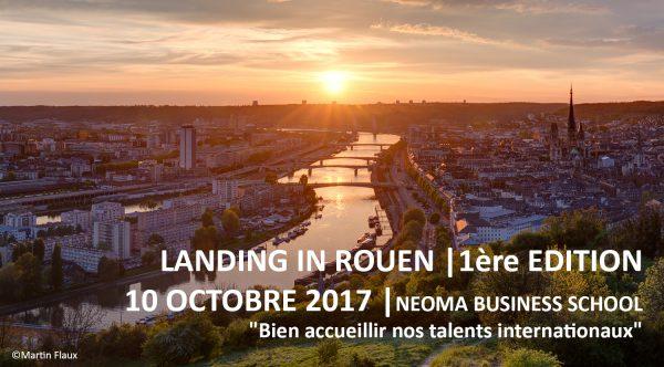 Landing in Rouen, 1ère édition : Bien accueillir nos talents internationaux