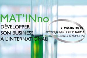 Mat'Inno Polepharma 7 mars 2019 à Rouen