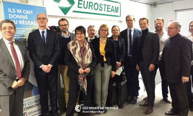 La CCI Rouen Métropole revitalise l'économie du territoire Austreberthe-Cailly