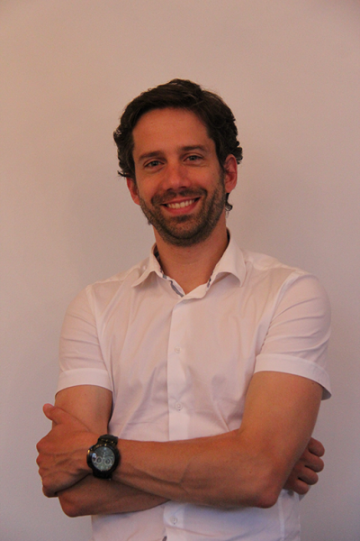 Maxime Bertin, Executive Assistant