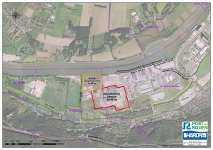 Plateforme logistique et industrielle de 27 hectares disponible au Sud de Rouen à Grand-Couronne,