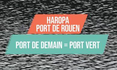 Le port de demain à Rouen : un port vert !