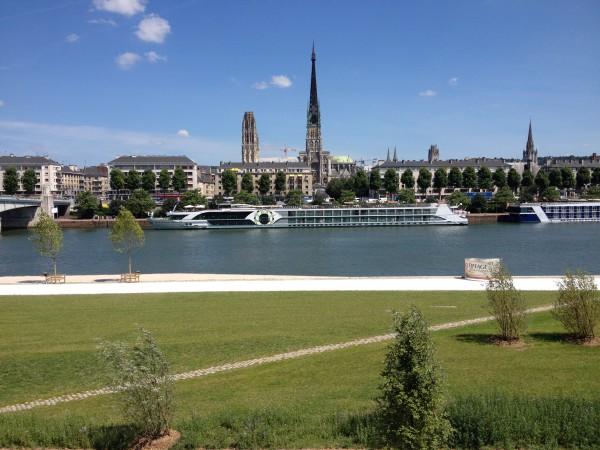 Quais bas de la rive gauche de la Seine à Rouen © Ville de Rouen