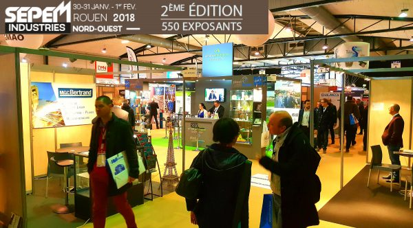Rni au sepem industries nord ouest rouen normandy invest for Salon ouest industrie