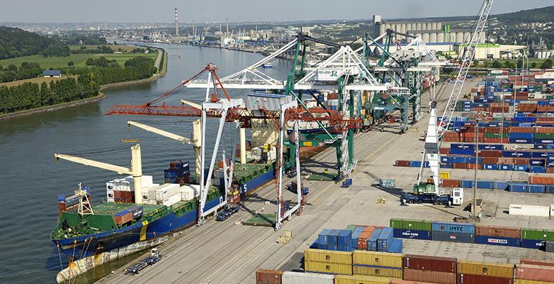 Un bilan 2013 particulièrement positif pour le port de Rouen