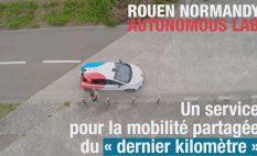Rouen Normandy Autonomous Lab : Premiers tours de roue avant l'ouverture au public