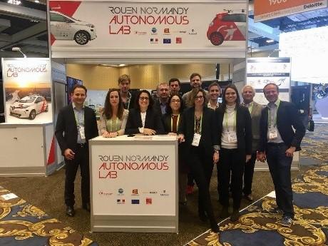 Rouen Autonomous Lab particulièrement remarqué lors du Consumer Electronic Show à Las Vegas