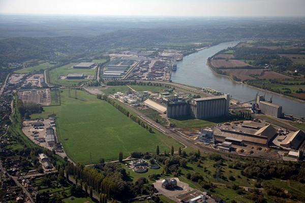 Rouen Vallée de Seine Logistic ©4vents aerial photograph