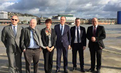 Une convention de partenariat entre Rouen Normandy Invest et Caux Seine développement