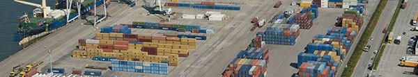 Container terminal Rouen Vallee de Seine ©P. Boulen