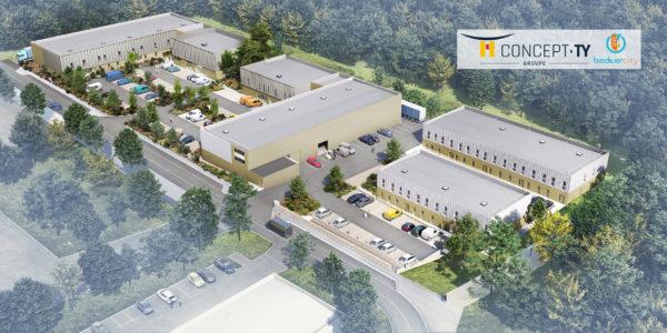 Le Village d'entreprises Activity propose 6 000 m² de locaux mixtes au Sud de Rouen