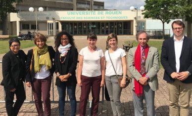 Visite à Rouen de Chargés d'affaires de Business France