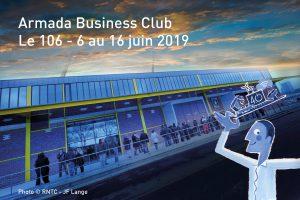 Intégrez l'Armada Business Club au 106 pendant l'Armada 2019 !