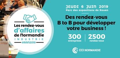 Les Rendez-vous d'Affaires de Normandie - Industrie à Rouen le 6 juin 2019