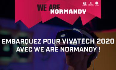 Embarquez pour Vivatech 2020 avec We Are Normandy !