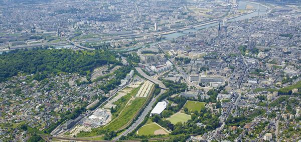 Vue-aerienne-Rouen-innovation-sante
