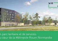 Métropole Rouen Normandie : lancement du parc d'activités We Hub