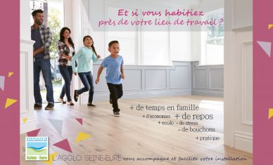 Dispositif d'accueil : l'Agglo Seine‐Eure facilite l'installation des salariés !